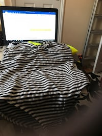 black and white striped bed sheet Birmingham, B64 5QH