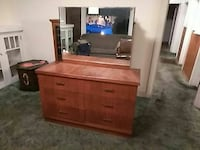 brown wooden dresser with mirror San Jose, 95126