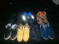 toddler's six pairs of shoes Chicago