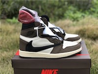 Air Jordan Retro 1 X Travis Scott Oak Bay
