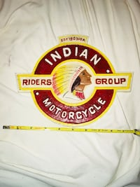 Antique motorcycle club emblem patch sign Winchester, 22602