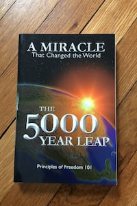 The 5000 Year Leap; A Miracle That Changed the World East Haven, 06512