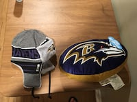 Ravens Warm hat and soft pillow 57 km