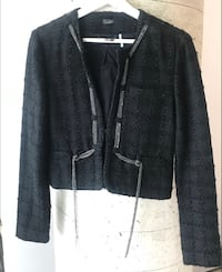 Marciano Women's Tweed Black Jacket Size Small  Toronto