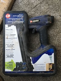 black and blue Campbell Hausfeld power tool