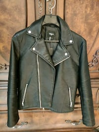 Men's faux leather jacket  Toronto, M2J 5A7