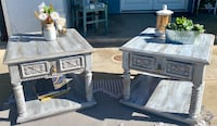 Shabby Chic Vintage Side Tables Carlsbad, 92008