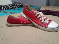 pair of red Converse All Star low-top sneakers Little River, 29566