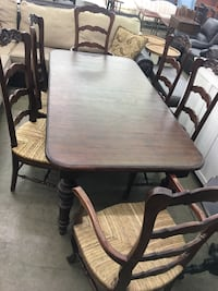 NEW country modern dining table & 6 chairs  Noblesville, 46060