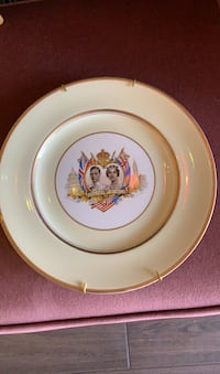 1937 King George Commemorative Plate