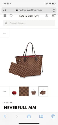 Louis Vuitton Neverfull MM Vaughan, L4H 2P8