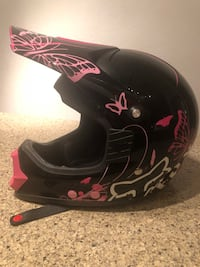 Clean cute Fox helmet only used once size small Scottsdale, 85257