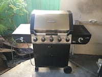 gray and black wheeled stove gas grill Honolulu, 96815