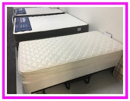 """Queen size 6"""" Mattress and Box Spring brand new still in plastic"""