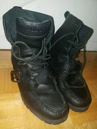 Raulph Lauren Polo Combat Boots Mississauga, L4W 1V1