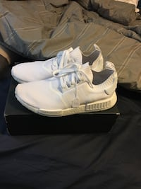 Triple white Japan pack nmd size 13 Calgary, T2X