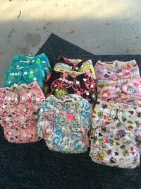 Cloth diapers Lowell town, 53579