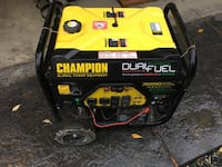 yellow and black Champion portable generator Anacortes, 98221