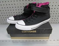 pair of black Converse All Star high-top sneakers Mississauga, L5N 6Z6