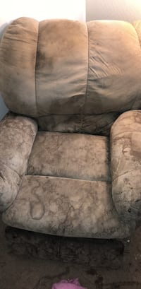gray and white fabric sofa chair Coolidge, 85128