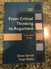 From Critical Thinking to Argument Annandale
