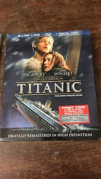Titanic Blu-ray + DVD + Digital Copy case Vancouver, V6A 2T7