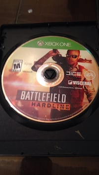 Battlefield Hardline Xbox One game disc Falls Church, 22041