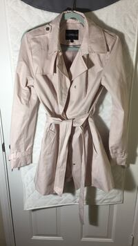express. small. light pink trench Alexandria, 22310