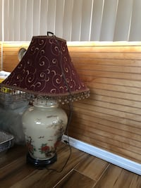 white and brown table lamp Pembroke Pines, 33024