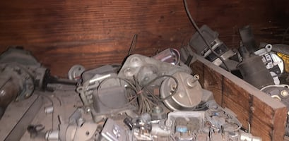 All sorts of auto parts! Ranging from 1960s to present. Ford, Chevy, Oldsmobile, Dodge! Make an offer. Thank you