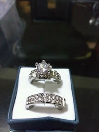 Woman's engagement ring set size 61/2 Los Angeles, 90044