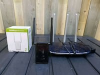 Tp-link Archer C20 router and wn532n2 wifi repeate Toronto, M8Y 1E3