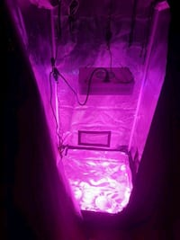 Grow tent with 300w led light combo 3693 km