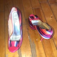 Colourful heels. size 9 Montreal