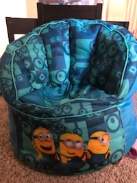 blue and yellow Despicable Me Minions sofa chair Stockton, 95215