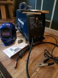 Like new mig/flux welder set up Edmonton, T5G 1W7