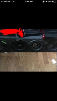 "4 10"" subs. 2 amps  Hollister, 95023"