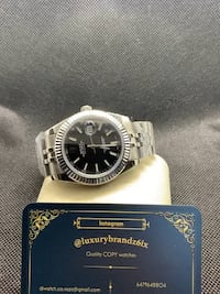 Rolex datejust R./E,/P.\lica black face automatic watch analog watch Toronto, M6A