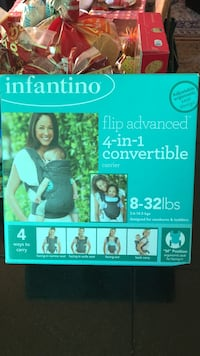 Baby's black infantino flip advanced 4-in-1 convertible carrier box Oakland, 94602