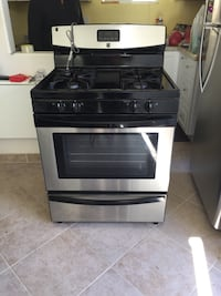 black and gray gas range oven Los Angeles, 90062