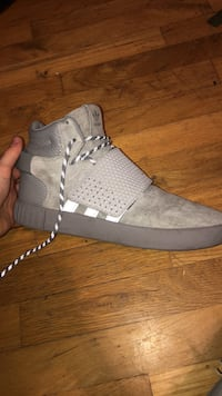 Adidas tubular invaders grey suede strap  New Westminster, V3L 1V5