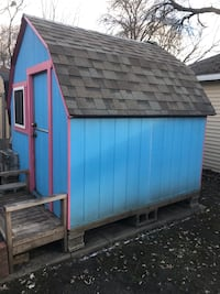 8x8x8 professionally built playhouse/shed Des Moines, 50310