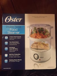 Oster Double Tiered Food Steamer Fort Washington, 20744