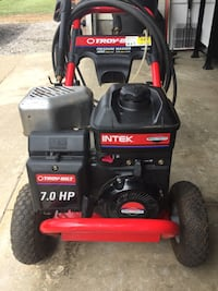Used 3000 psi pressure washer in 7.0 hp Troy belt needs a little carburetor work but Runs and sprays 50'hose Canton, 44708
