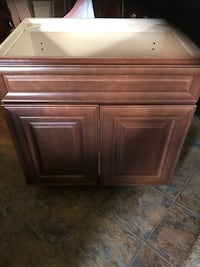 2 Beautiful cabinet 31 in. Tall, 23 in. Deep, 29 1/2 wide. Brand new , never used. Sells for about 250. A piece. 150. Eaboth for 250. Nice bathroom cabinets. North Port, 34286
