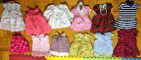 Baby girl USED clothing and shoes 6-12 months Toronto, M4G 3W4