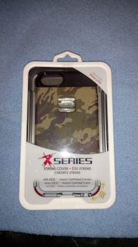 black and grey camouflage X series case Toronto