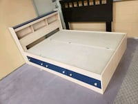 New double bed with drawers on sale  Toronto, M9W 1P6