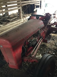 Tractor with implements