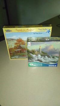 Two 1000 piece puzzles new  Mansfield, 44903